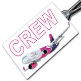 Wizz Air A320 Crew Tag